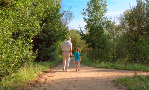 nature-grandparenting