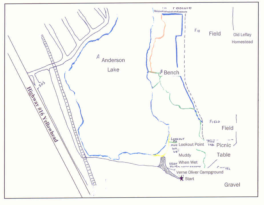 Leflay Trail Map