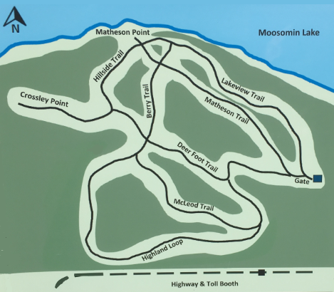 Moosomin trails map