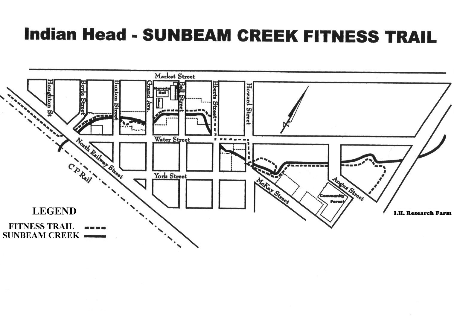 Sunbeam Creek map