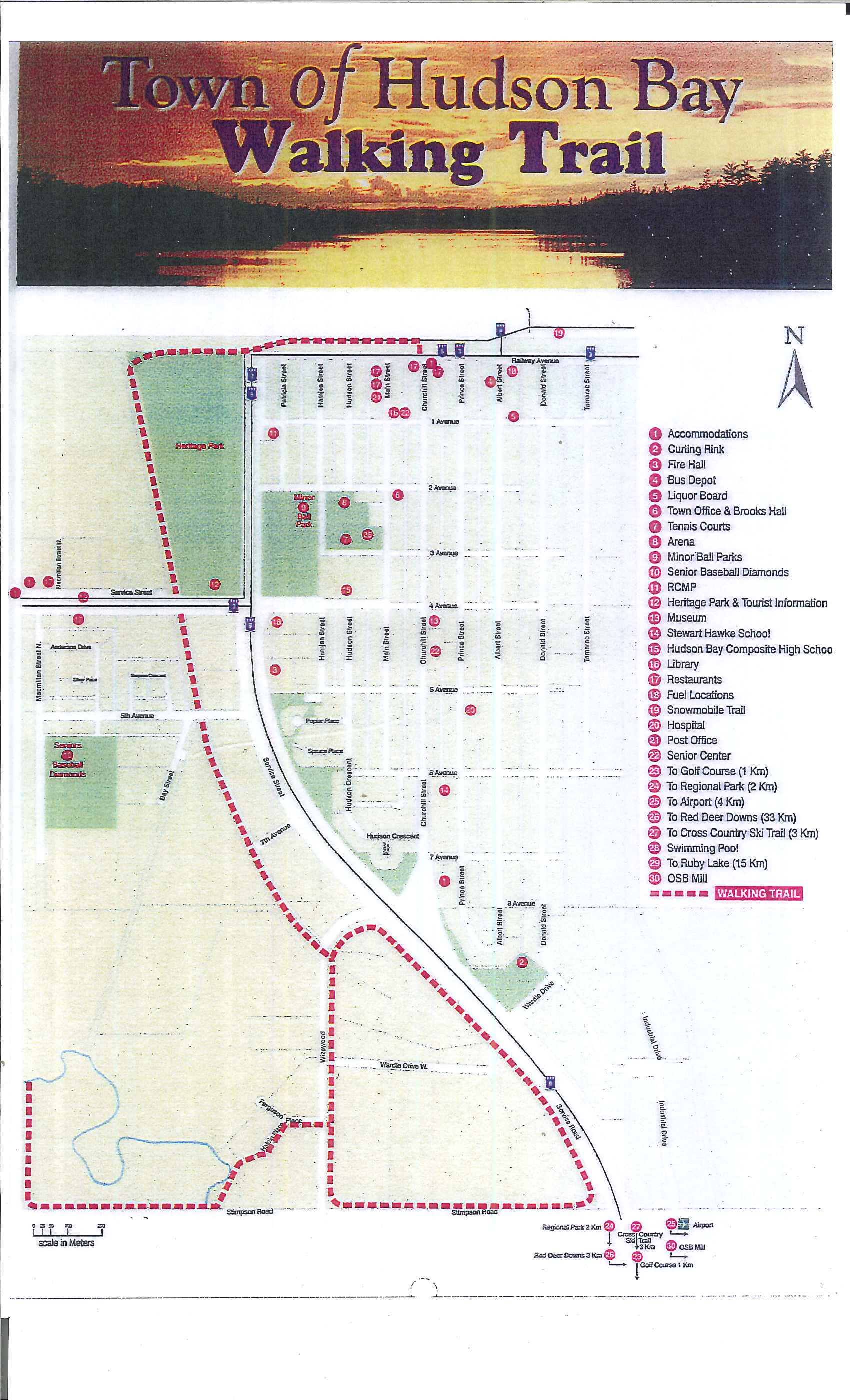 WalkingTrail Map