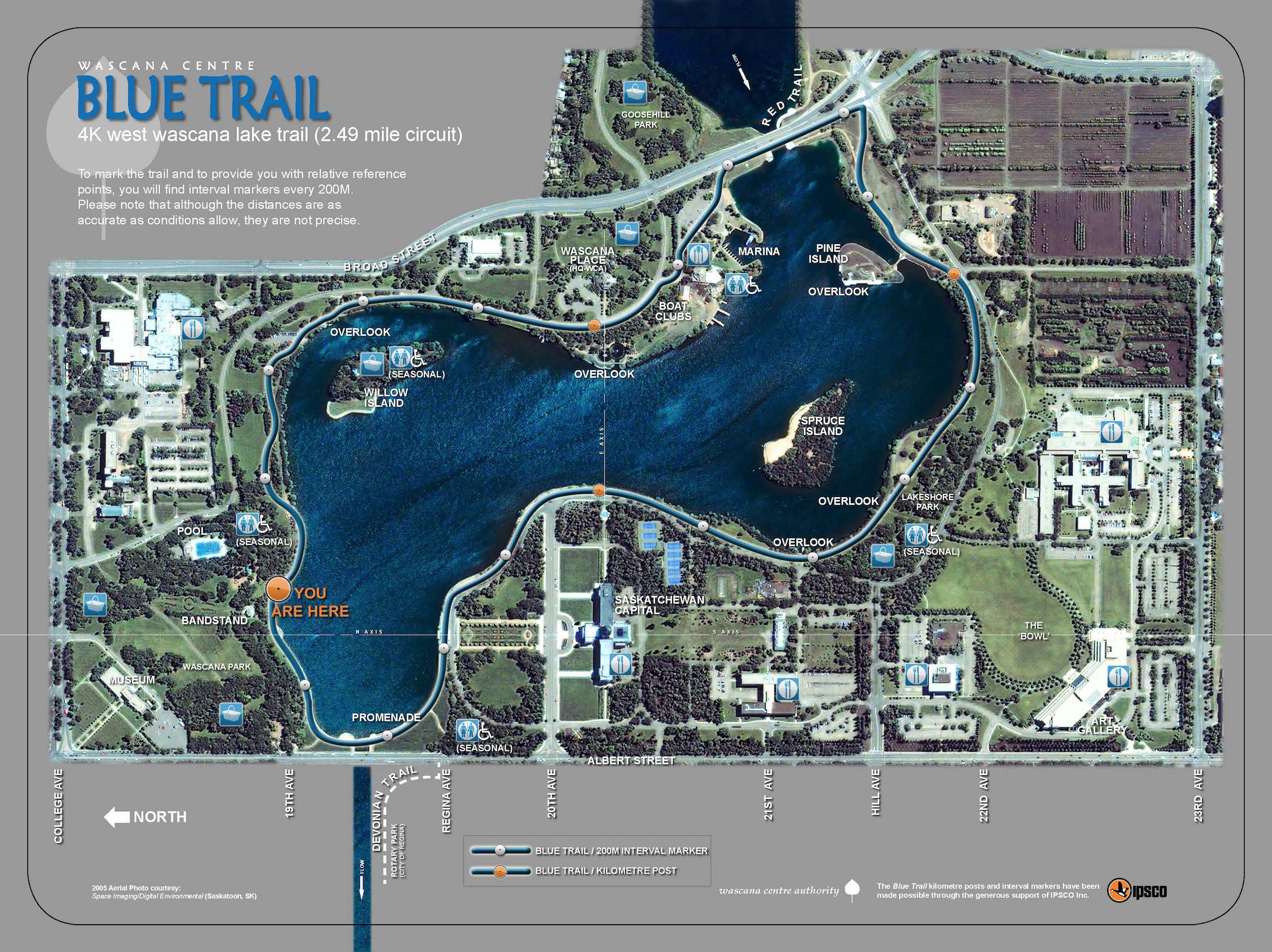 bluetrail map