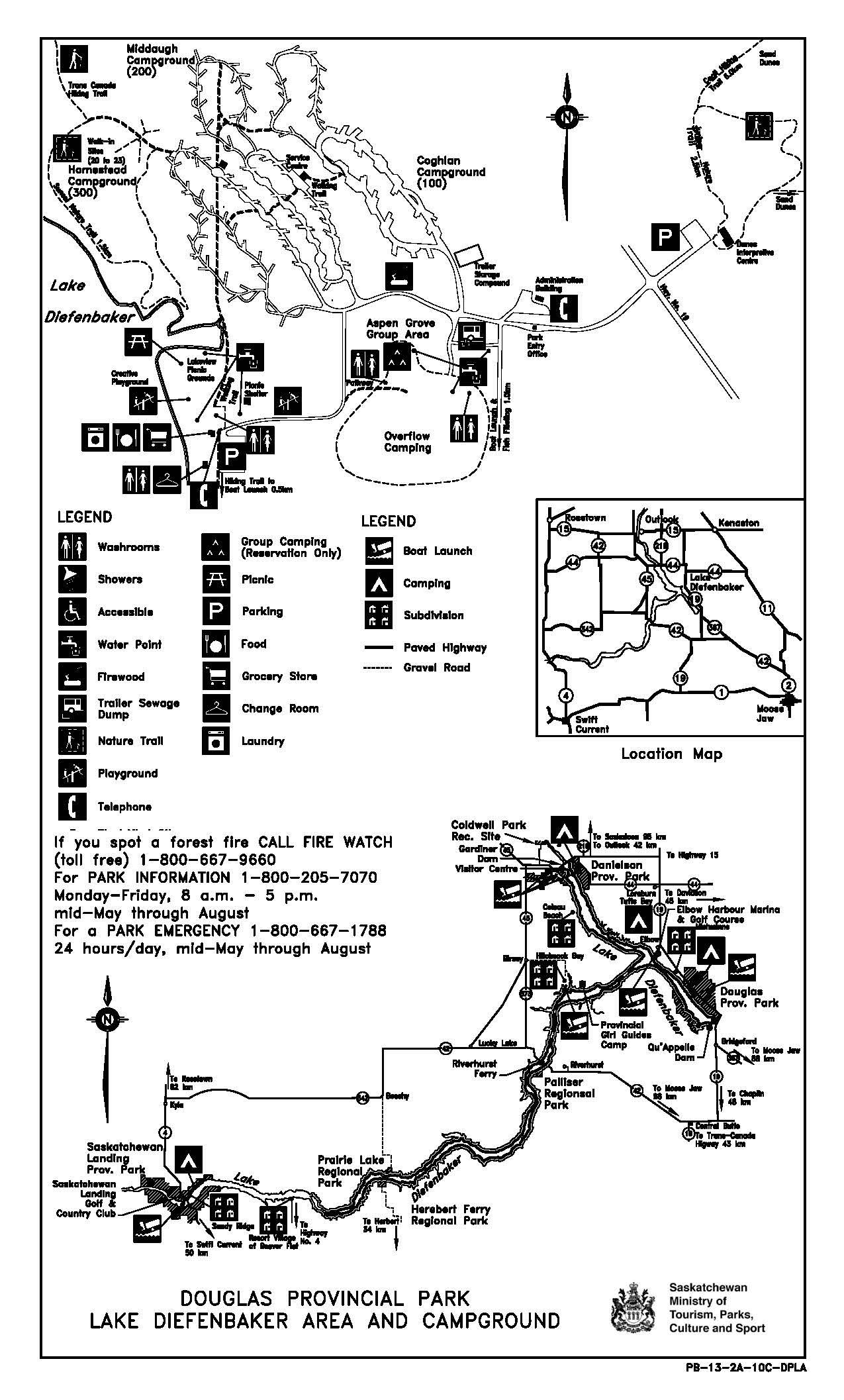 douglas prov park map