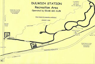 dulwich trail map