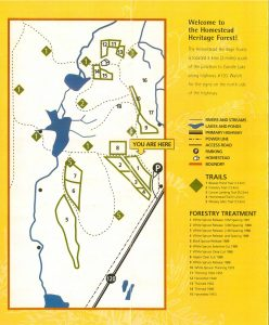 homestead forest trails map
