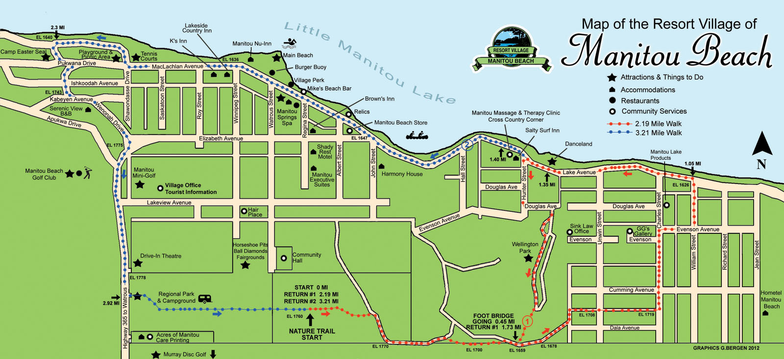 manitou trails map
