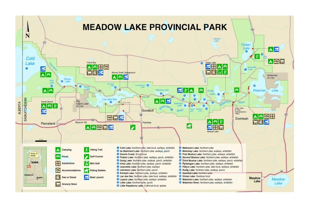meadow lake park map