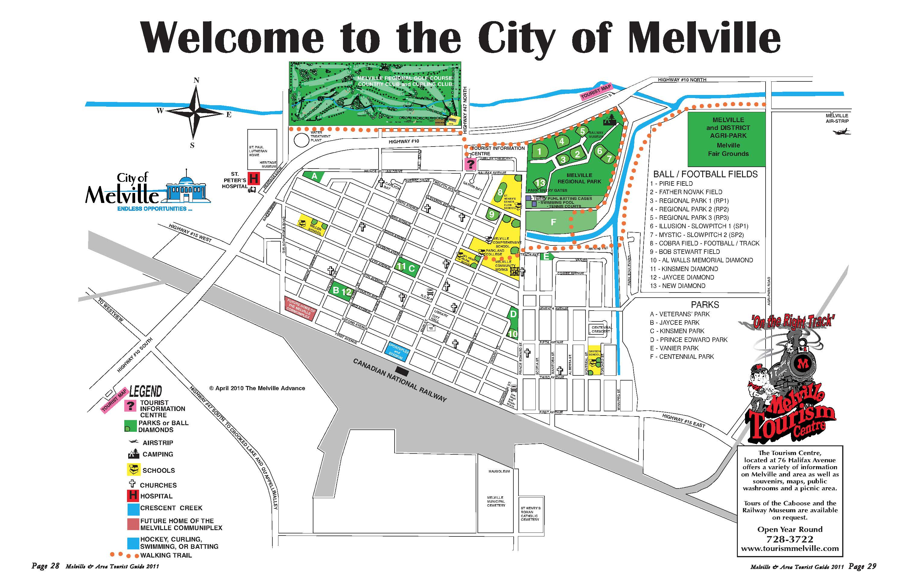 melville map high quality